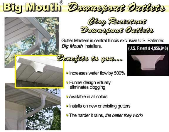 Big Mouth Downspouts