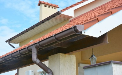 Updated gutters after Gutter Installation in Peoria IL